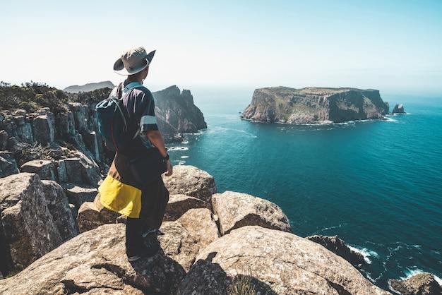 Trekking nella penisola di tasman