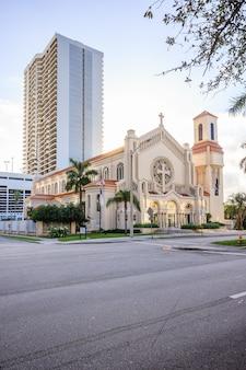 Trinity episcopal cathedral a miami, in florida, è la chiesa cattedrale