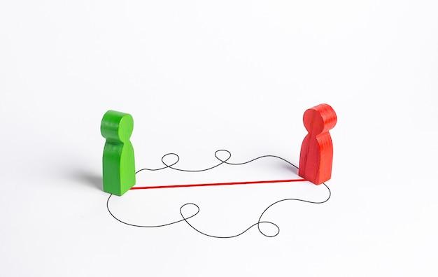 Trovare il modo migliore per contattare e persuadere un'altra persona. oratoria e fiducia in se stessi
