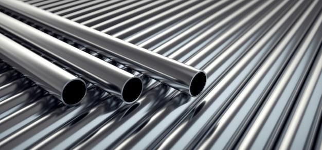 Tubi di acciaio inossidabile.