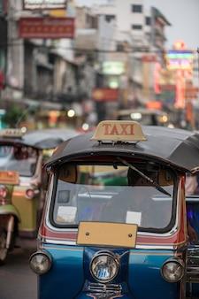Tuk di tuk a bangkok tailandia