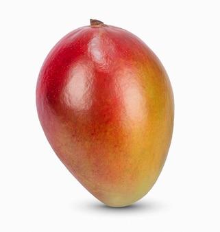 Tutta la frutta del mango isolata su fondo bianco