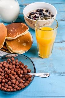 Tutto il necessario per la colazione continentale