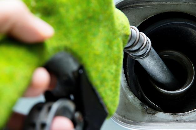 Ugello del carburante verde