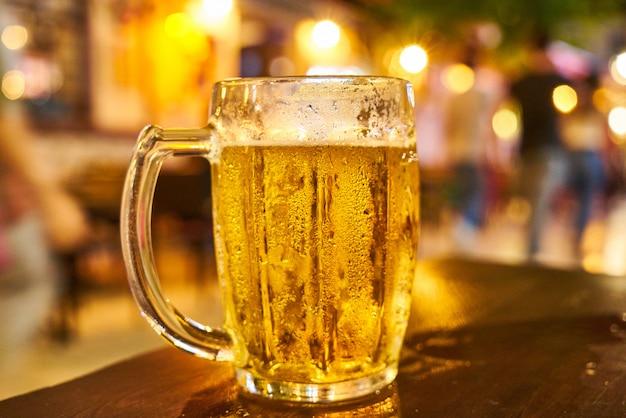 Un boccale di birra