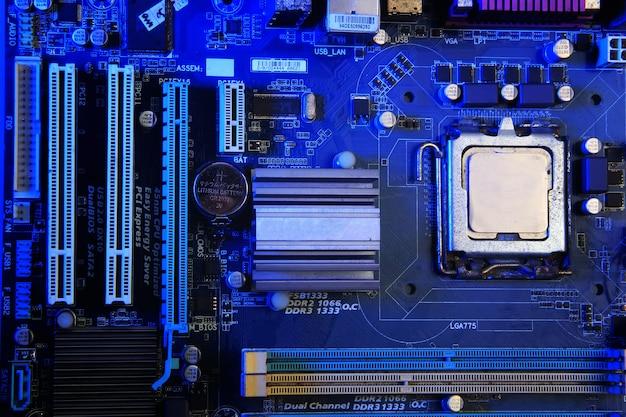 Un componente della scheda madre del computer