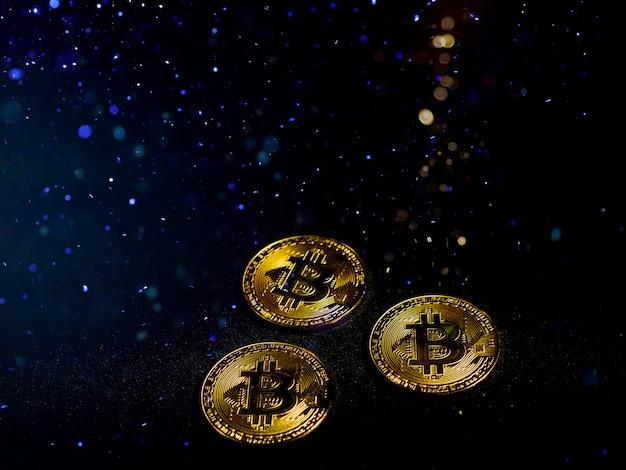 Un innovativo effetto bitcion di valuta digitale dal grande effetto di illuminazione.
