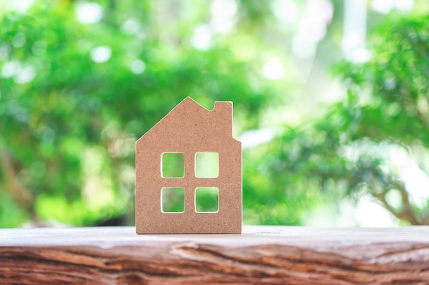 Un modello di casa modello
