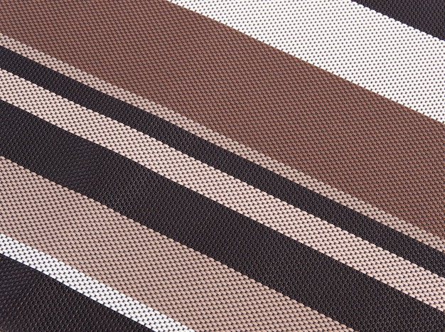 Un tono marrone tessere la trama di sfondo tovaglia.