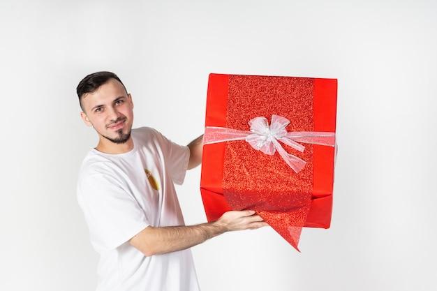 Un uomo con un grande dono