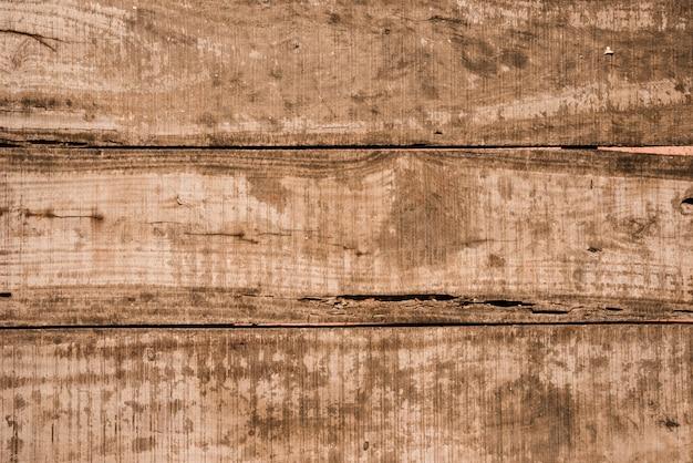 Un vecchio fondo di legno della plancia