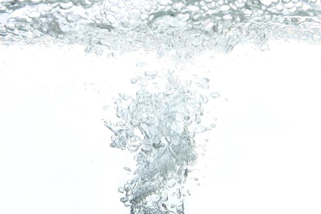 Una spruzzata astratta di acqua dolce