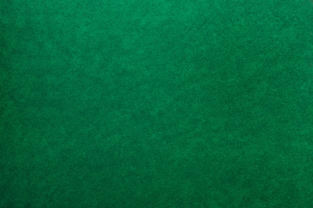 Una vecchia carta verde con texture di sfondo