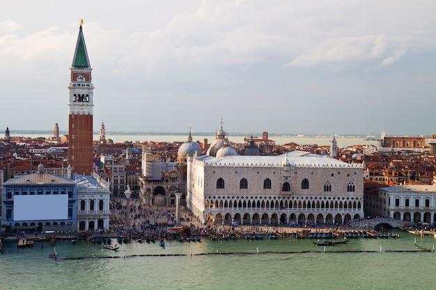 Una vista di venezia italia