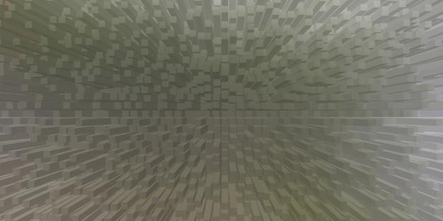 Unico astratto estrudere pattern di sfondo