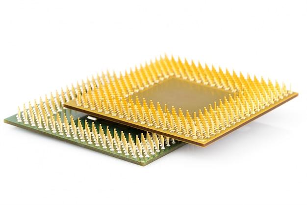 Unità centrale di elaborazione o chip del computer