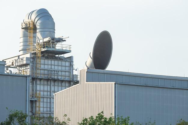 Unità di recupero del calore dei rifiuti whru, unità di recupero del calore di scarto whru nella centrale elettrica.