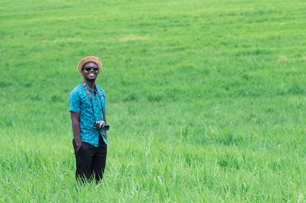Uomo africano