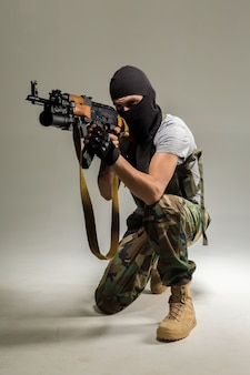 Uomo anti terrorista