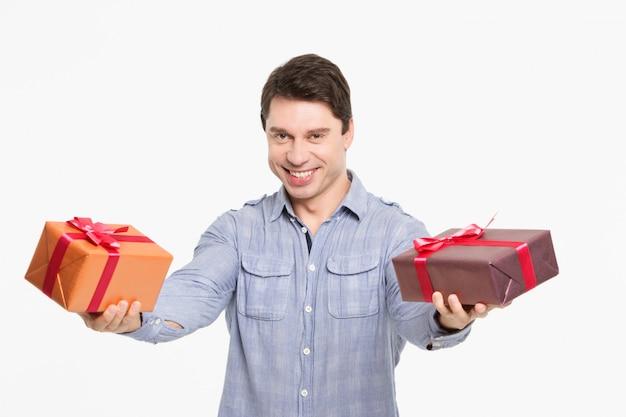 Uomo con doni