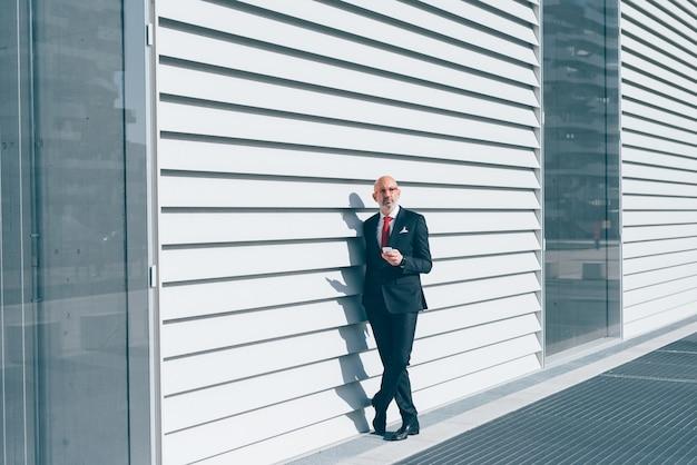 Uomo d'affari caucasici di mezza età