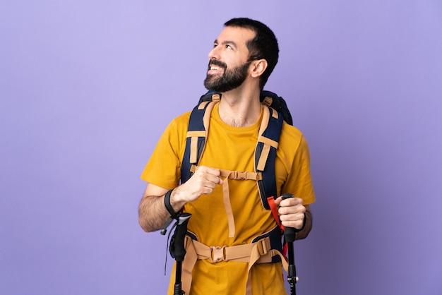Uomo escursionista
