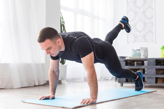 Uomo fitness
