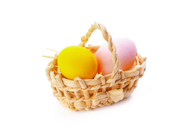 Uova colorate di pasqua