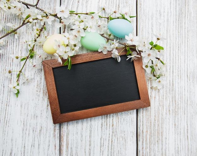 Uova di pasqua e auguri