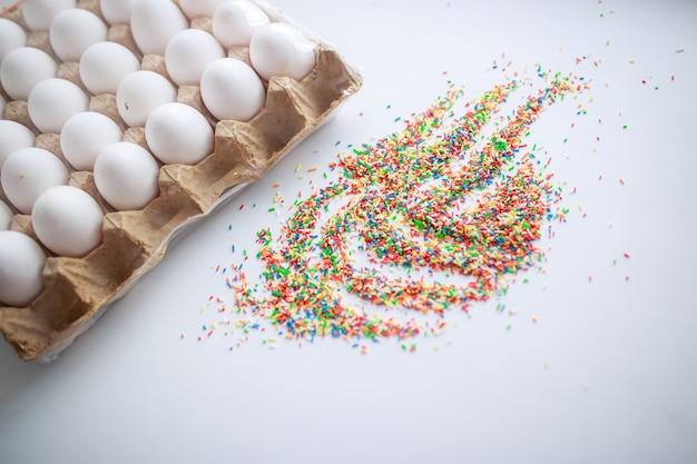 Uova di pasqua in scatola