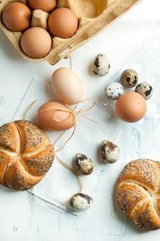 Uova di quaglia e pollo