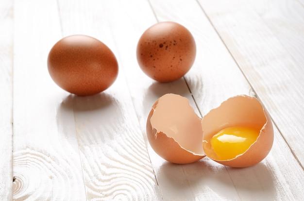 Uovo rotto