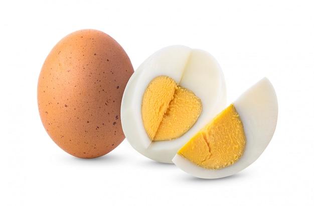 Uovo sodo su bianco