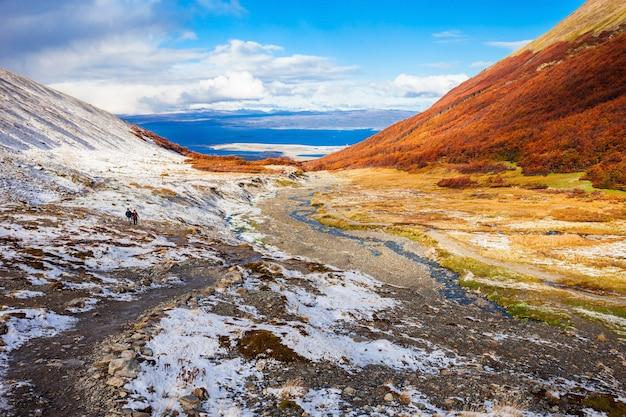 Ushuaia dal ghiacciaio marziale