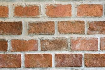 Uso di struttura del muro di mattoni di Brown per fondo.