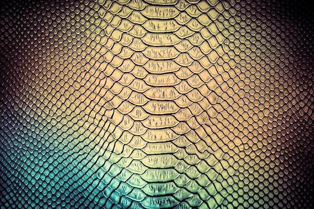 Uso di texture di pelle di serpente di lusso per lo sfondo