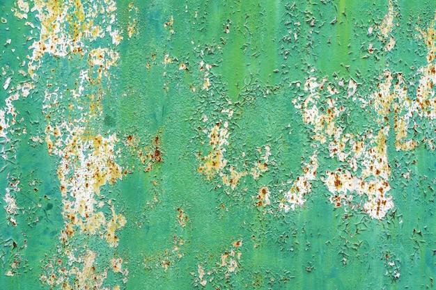 Uso rustico di struttura del metallo di vecchio lerciume per fondo
