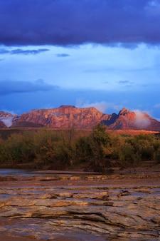 Utah meridionale zion landscape vertical