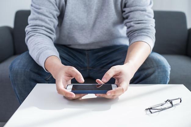Utilizzando la connessione internet ad alta velocità sul cellulare