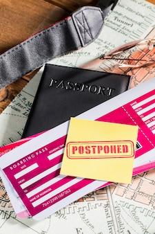 Vacanze sospese a causa di covid19