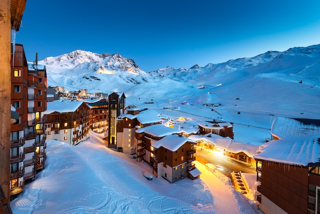 Val thorens in francia