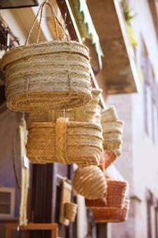 Valencia tradizionale artigianato sparto vicino al mercado central