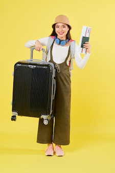 Valigia di sollevamento del viaggiatore