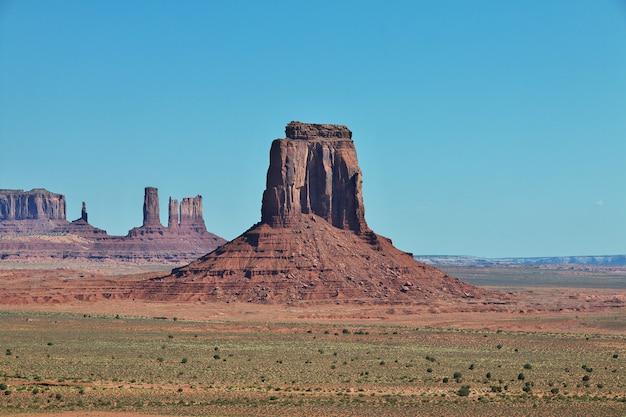 Valle di monumen, parco nazionale, stati uniti d'america