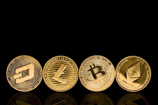 Valuta crittografica in metallo