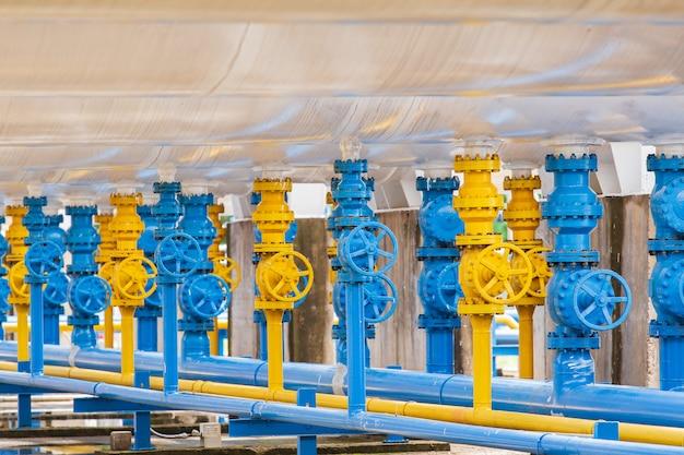 Valvole nell'impianto di gas