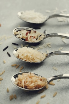 Vari tipi di riso