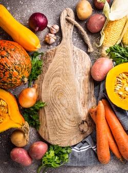 Varie verdure autunnali