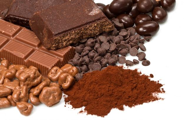 Varietà di cioccolatini
