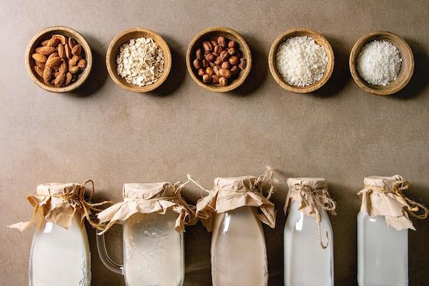 Varietà di latte non caseario